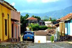 Trinidad: Bunte Häuser und Kopfsteinpflaster