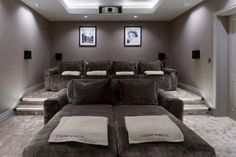Home Theater Room Design, Movie Theater Rooms, Home Cinema Room, Home Theater Setup, Best Home Theater, Home Theatre, Theatre Rooms, Movie Rooms, Home Cinema Seating