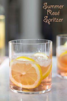 Summer Rosé Spritzer - We are not Martha