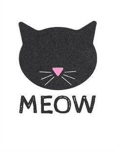 Print out and put on canvas or put glitter and frame it. Crazy Cat Lady, Crazy Cats, Image Chat, Poster S, Cat Birthday, Cat Party, Dog Mom, Cat Love, Cute Wallpapers