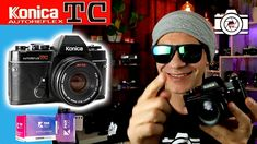 Konica Autoreflex TC - Review en español - Street Photography Street Photography, Mens Sunglasses, Videos, Youtube, Fashion, City Photography, Black And White, Moda, Fashion Styles