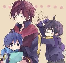 Vocaloids - Akaito, Kaito, & Taito - Taito's so cute! Vocaloid Kaito, Vocaloid Cosplay, Kaito Shion, Anime People, Anime Guys, Neko, Kaai Yuki, Cute Little Boys, Wattpad