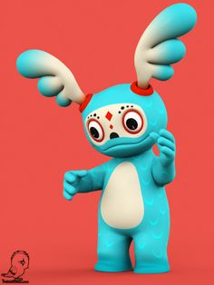 Zuppo!  3D Character design.