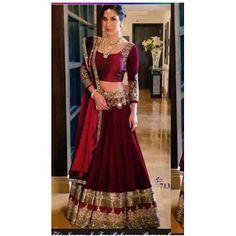 Buy Dertaste Maroon Satin Semi Stitched Lehenga Choli by Shreenath Packaging, on Paytm, Price: Rs.2800?utm_medium=pintrest