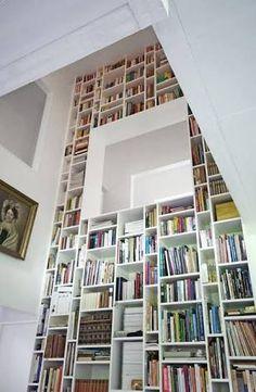 Resultado de imagem para bibliothèque maison