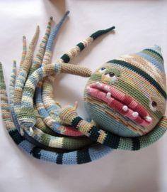 Angela Davidson, crochet creatures