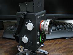 The Bonzart Ampel: Dual lens toy camera that can shoot both regular or tilt shift photos or video //