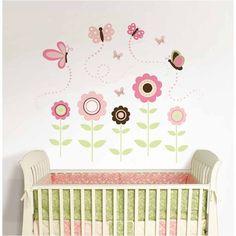 So cute $49.99 Brewster Wall WallPops Butterfly Garden Wall Art Kit