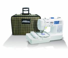 Amazon.com: Brother LB6800PRW Project Runway Computerized Embroidery and Sewing Machine: Kitchen & Dining