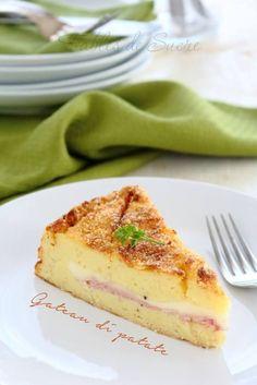 Il gateau di patate è un piatto unico facile da fare, potete cucinarlo anche con anticipo, e piace proprio a tutti perchè fatto con ingredienti semplici.