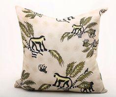 Monkey Palm Cushion - Desert http://www.lesser-spotted.co.uk/associates/porcupine-rocks/aardmore-cushion-bespoke-south-african-576.html