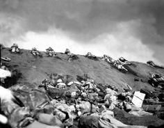 February 19, 1945, Marines, among other America forces, raided the beaches of Iwo Jima.  It would take five weeks of intense fighting and cost nearly 7,000 U.S. lives to defeat the well-entrenched, heavily-fortified enemy positions and secure the strategic island