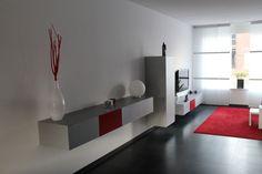 Wandkasten van Pastoe verwerkt in een woonkamer