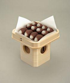 とらやブログ 関西(京阪)月見団子 子芋型