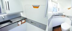 Embraer E2 Cabin toilet