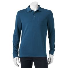 Men's Croft & Barrow® Classic-Fit Easy-Care Interlock Polo, Size: