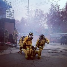 Firefighters ~ Re-Pinned by Crossed Irons Fitness