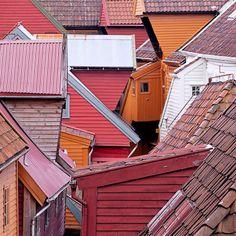 Bergen, Norway.   By  Frederic Verhelst