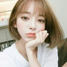 I love this hair style it's so pretty Pretty Asian, Beautiful Asian Girls, Korean Beauty, Asian Beauty, Girl Model, Ulzzang Girl, Up Hairstyles, Best Face Products, Korean Girl