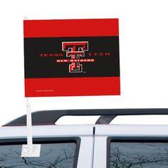"Texas Tech Red Raiders WinCraft 12"" x 15"" Double-Sided Car Flag - $14.99"