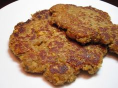 Chickpea Cutlets from Veganomicon