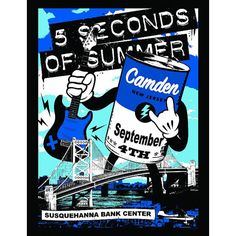 Camden's limited edition ROWYSO poster(with the right date)