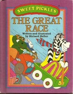 The Great Race (Sweet Pickles Series) by Richard Hefter, http://www.amazon.com/dp/0937524077/ref=cm_sw_r_pi_dp_x1firb0J12B63