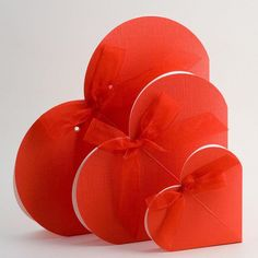 Heart wedding favours - available in 4 sizes.
