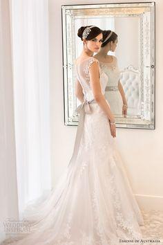essense of australia 2014 cap sleeve illusion back wedding dress style 1562