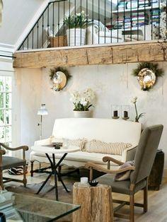 soggiorno bianco e grigio e legno - Cerca con Google