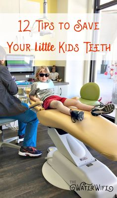 Picture-of-small-child-in-dentist-office-chair-for -awareness-for-national-child-dental-health-month