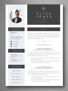 If you like this design. Check others on my CV template board :) Thanks for sharing! Resume Cv, Resume Design, Cv Designer Web, Cv Template, Resume Templates, Conception Cv, Modelo Curriculum, Curiculum Vitae, Word Cv
