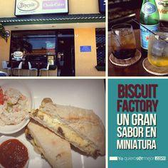 Biscuit Factory #Cafe #Paninis #BiscuitFactory #QueHacerEnElSalvador #Restaurantes #Yoquierosermejor