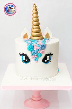 Torta Unicornio - Unicorn cake