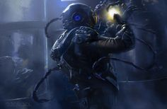 Alien by leonardo dleoblack | Sci-Fi | 2D | CGSociety