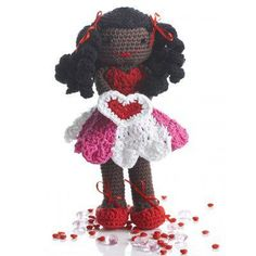 Valentine Amigurumi Crochet Doll Free Pattern
