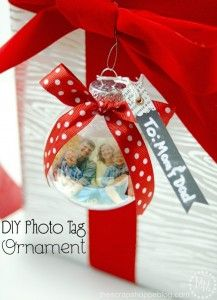 DIY Photo Ornament