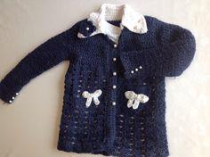 Woolen jamper for 4-year-old girl DIY