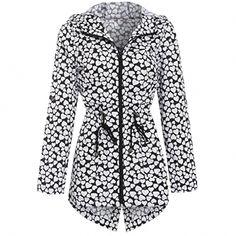 b069a7a47 Ladies Women Girls Rain Mac Raincoat Showerproof Fishtail Cagoule Kagool Festival  Parka Jacket Hooded Lightweight Coat