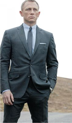 Tom Ford Suit, as seen in James Bond movies