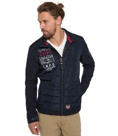 Softshellová bunda z kolekce Aviation Camp David, Aviation, Bomber Jacket, Athletic, Jackets, Fashion, Down Jackets, Moda, Athlete