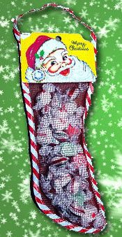 christmas stockings pre filled wedding candy buffet christmas candy christmas stockings vintage - Pre Filled Christmas Stockings