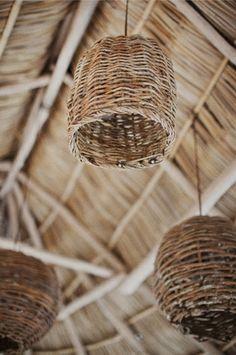 basket lamp shade