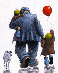 Alexander Millar -The Acorn Gallery - Beautiful and Unique Artwork Painting People, Figure Painting, Figure Drawing, Norman Cornish, Industrial Artwork, Impressionist Artists, Watercolor Sketch, Watercolor Portraits, Dogs And Kids