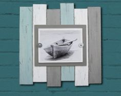 8X10 Multi Color Beach Industrial Distressed Frame