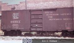 DSS&A, Duluth South Shore & Atlantic Single Door Boxcar, original image is Old Train Pictures, Boxcar, Rolling Stock, Train Car, Single Doors, Model Trains, Original Image, Regional, Diesel