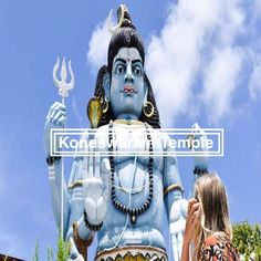 Koneswaram Temple is a Hindu Temple dedicated to Lord Shiva located in Trincomalee, Eastern Sri Lanka. How to get to the Koneswaram Temple Hindu Temple, Lord Shiva, Sri Lanka, Movie Posters, Pictures, Photos, Film Poster, Popcorn Posters, Shiva