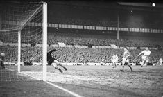 Tottenham v Benfica European Cup Semi Final 1962: When Spurs missed out on a place in the final. Spurs hopes were shattered when Jimmy Greaves had a gone wrongly ruled out for offside.
