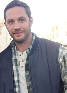 Tom. Everything about this is perfect. Facial hair. Outfit. Omg.