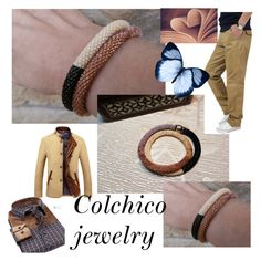 """""""Colchico jewelry"""" by alma-ja ❤ liked on Polyvore"""